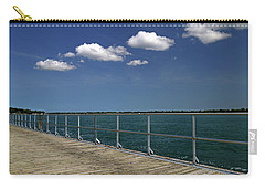 Four Clouds Over The Boardwalk Carry-all Pouch