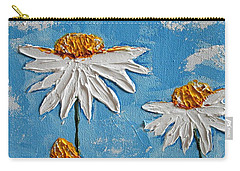 Four Daisies Carry-all Pouch