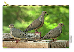 Four Doves In Search Of A Theme Carry-all Pouch by Jim Moore