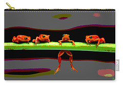 Four Frogs Carry-all Pouch
