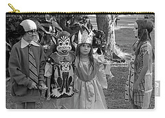 Four Girls In Halloween Costumes, 1971, Part Two Carry-all Pouch