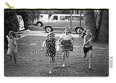 Four Girls Racing, 1972 Carry-all Pouch