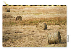 Four Hay Balls -  Carry-all Pouch