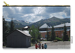 Four Little Children Safe In A Big Beautiful World Telluride Colorado Carry-all Pouch