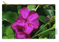 Carry-all Pouch featuring the photograph Four O'clock At 9am  by Richard Rizzo