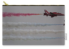 Four Red Arrows Smoke Trail - Teesside Airshow 2016 Carry-all Pouch