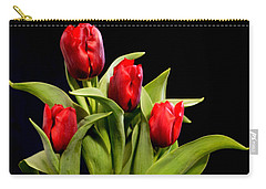 Four Tulips Carry-all Pouch