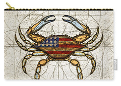 Fourth Of July Crab Carry-all Pouch by Charles Harden