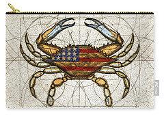 Fourth Of July Crab Carry-all Pouch