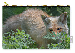 Fox In The Ferns Carry-all Pouch