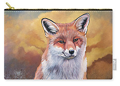 Fox Knows Carry-all Pouch