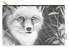 Fox Carry-all Pouch by Lawrence Tripoli