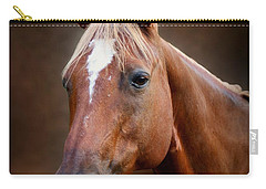 Fox - Quarter Horse Carry-all Pouch by Sandy Keeton