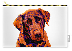 Fox Red Labrador Painting Carry-all Pouch