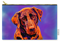 Fox Red Labrador Painting IIi Carry-all Pouch