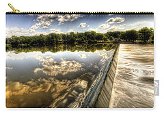 Fox River At The Geneva Dam Carry-all Pouch
