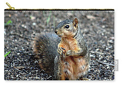 Fox Squirrel Breakfast Carry-all Pouch