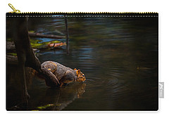Fox Squirrel Drinking Carry-all Pouch