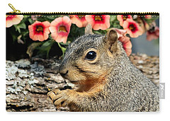 Fox Squirrel Portrait Carry-all Pouch