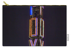 Carry-all Pouch featuring the photograph Fox Theatre Detroit by Nicholas  Grunas