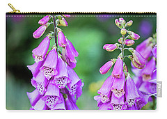 Foxglove Blooms Carry-all Pouch
