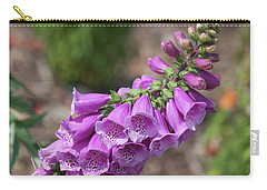 Foxglove Carry-all Pouch by Suzanne Gaff