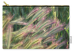 Foxtails In Spring Carry-all Pouch by Michele Myers
