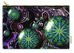 Fractal Abstract 7816.5 Carry-all Pouch