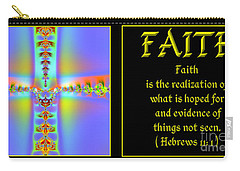 Fractal Faith Hebrews 11 Carry-all Pouch