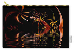 Fractal Fireworks Reflections Carry-all Pouch