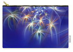Fractal Fireworks Carry-all Pouch
