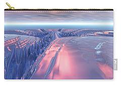 Fractal Glacier Landscape Carry-all Pouch