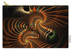 Fractal Spirochete Carry-all Pouch