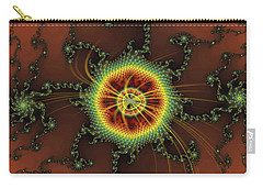 Fractal Swirls Carry-all Pouch