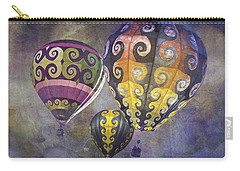 Fractal Trio Carry-all Pouch by Melinda Ledsome