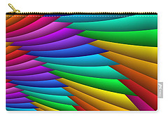 Fractalized Colors -8- Carry-all Pouch