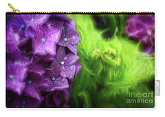 Fractals And Flowers Carry-all Pouch