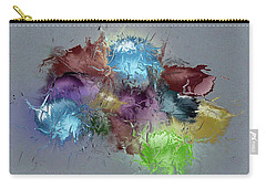 Fractured Bouqet 1 Pc Carry-all Pouch by John Krakora