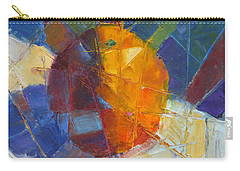 Fractured Orange Carry-all Pouch