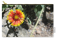 Fragile Floral Life On The Trail Carry-all Pouch