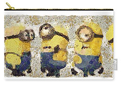 Fragmented And Still In Awe Congratulations Minions Carry-all Pouch by Catherine Lott