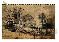Fragmented Barn  Carry-all Pouch