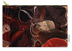 Carry-all Pouch featuring the photograph Fragments Of Memory by Kathie Chicoine