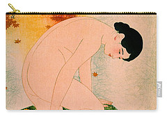 Fragrant Bath 1930 Carry-all Pouch by Padre Art