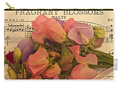 Fragrant Blossoms Carry-all Pouch by Sandra Foster