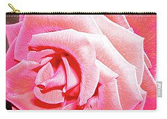 Carry-all Pouch featuring the photograph Fragrant Rose by Marie Hicks