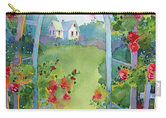Framed By The Roses Carry-all Pouch