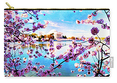 Carry-all Pouch featuring the photograph Framed  by Edward Kreis
