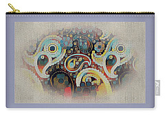 Framed Fantasy Carry-all Pouch
