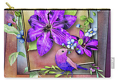 Framed Spring Carry-all Pouch by Larry Bishop